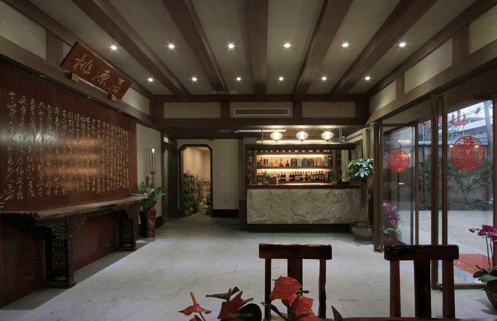 中式风格餐饮空间图片