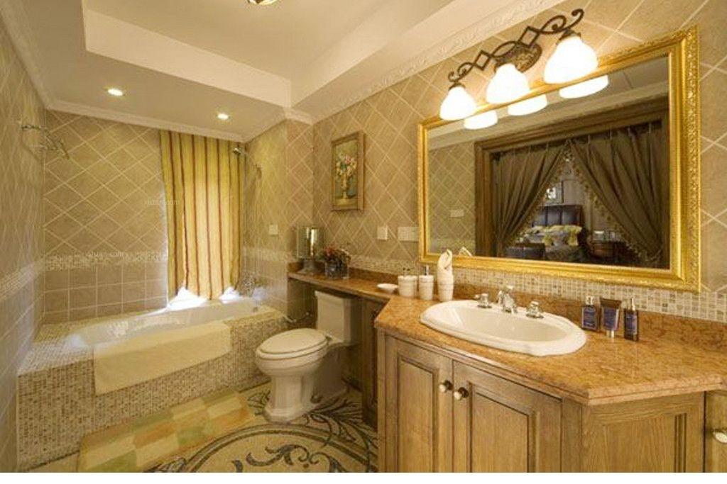 复式楼美式风格卫生间