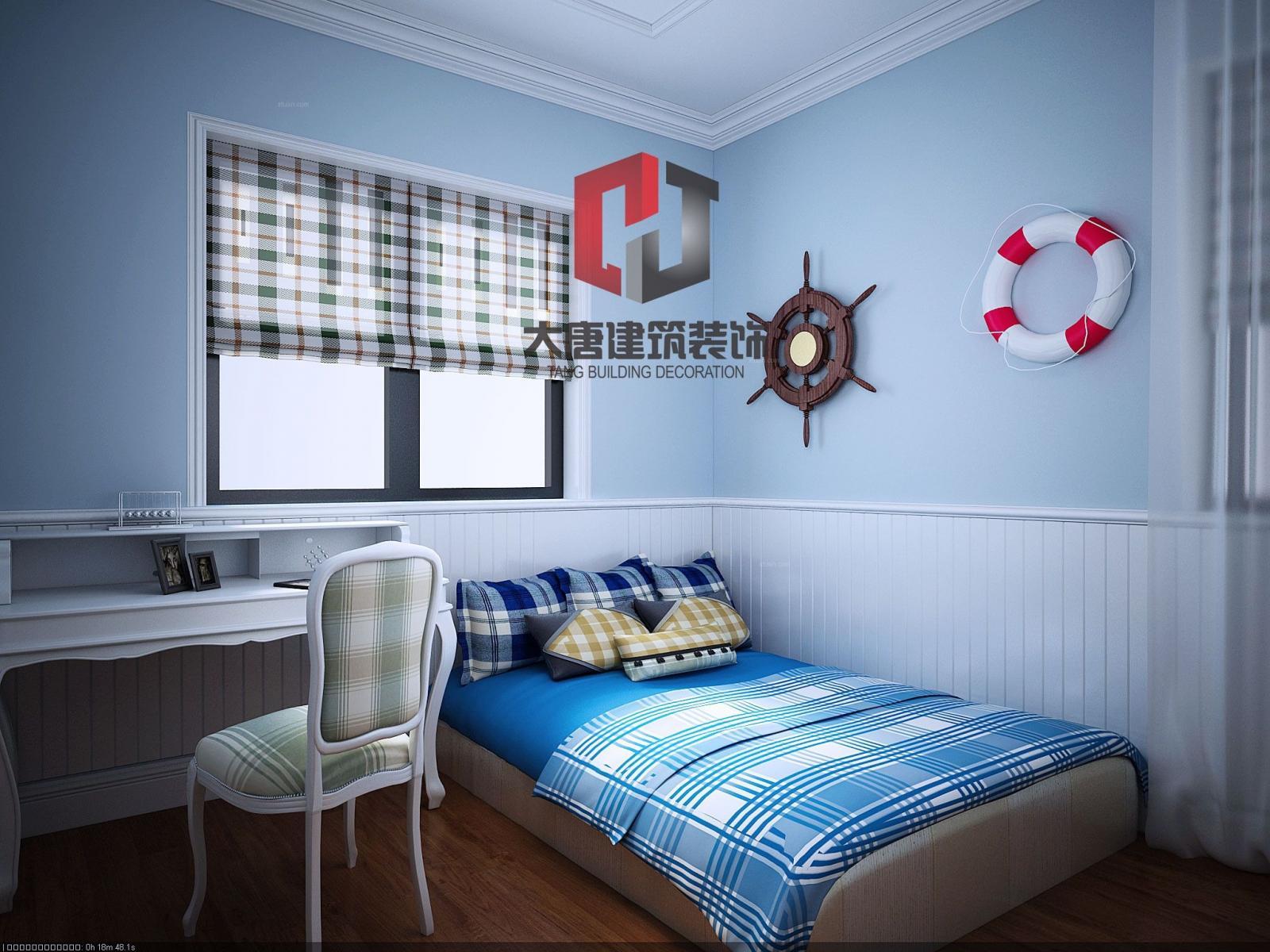 四居室欧式风格小卧室