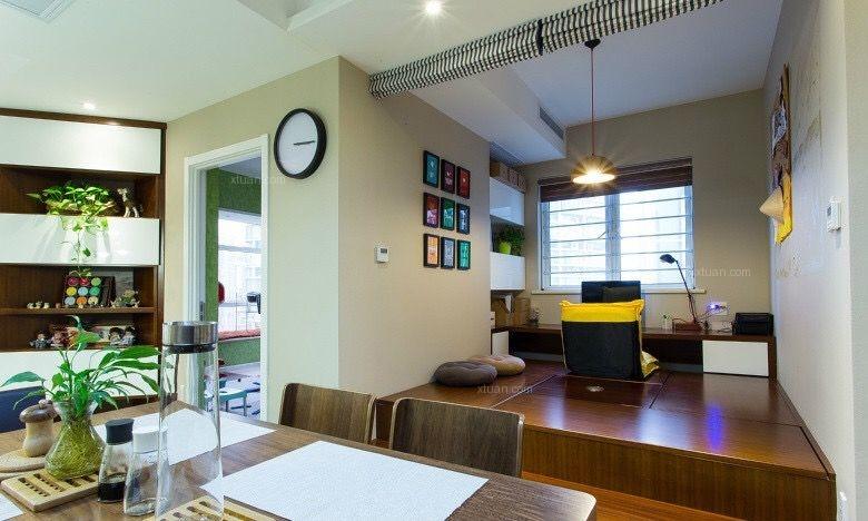 两居室北欧风格书房