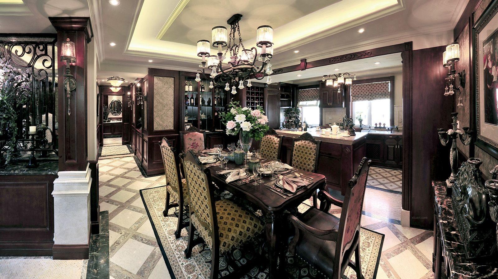 上海尚层别墅美式风格相信你会喜欢装修效果图图片