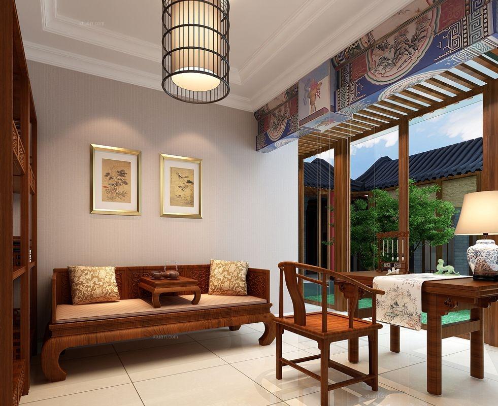 标签:客厅别墅中式风格 设计理念:    别墅装修设计公司-武汉尚层