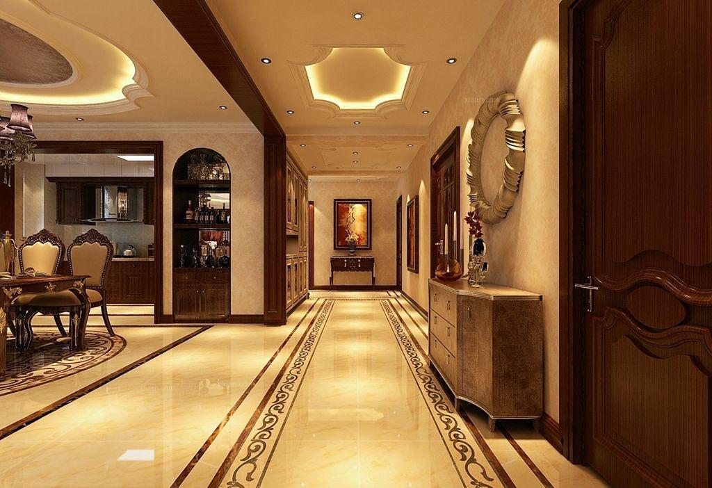 一室一厅简欧风格过道图片