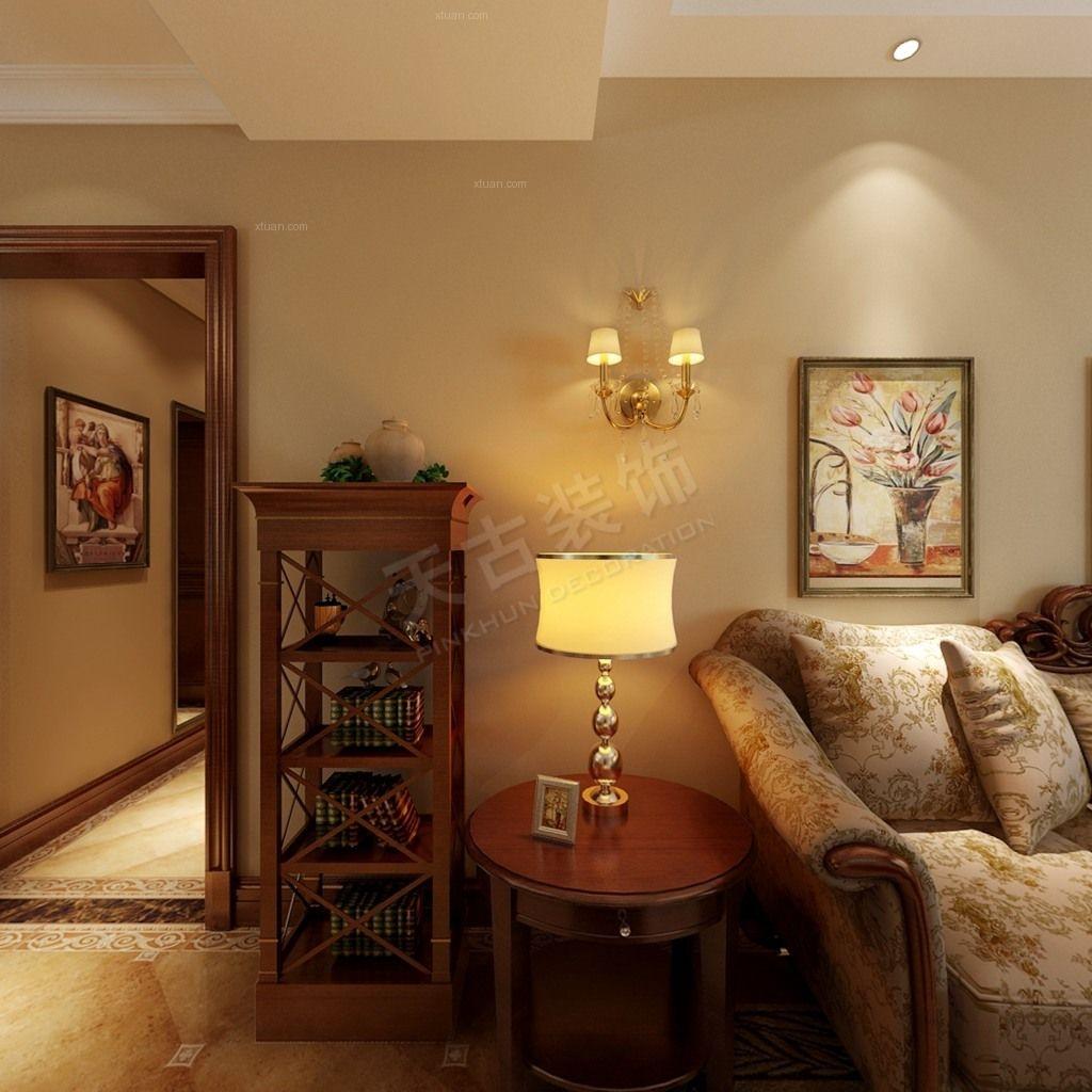 风格客厅设计装修效果图