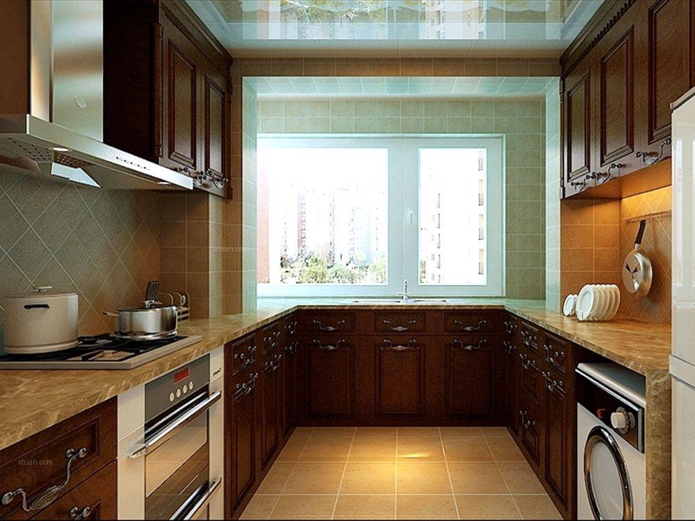 三室两厅中式风格厨房图片