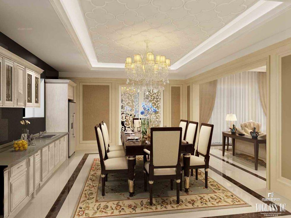 标签:餐厅别墅中式风格 设计理念:    别墅装修设计公司-武汉尚层