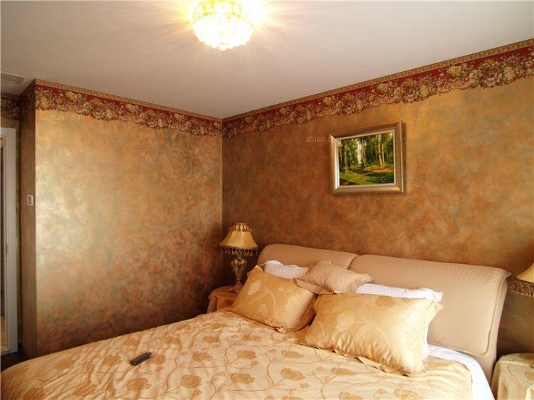 高端别墅室内墙面艺术涂料产品效果图