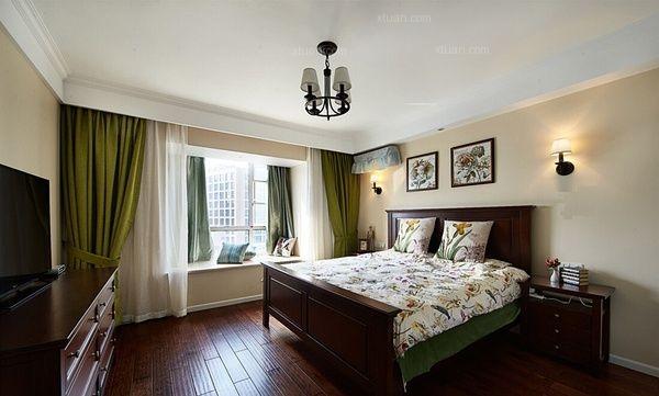 标签:卧室三居室美式风格 设计理念:超凡装饰咨询电话:0371-55203080图片