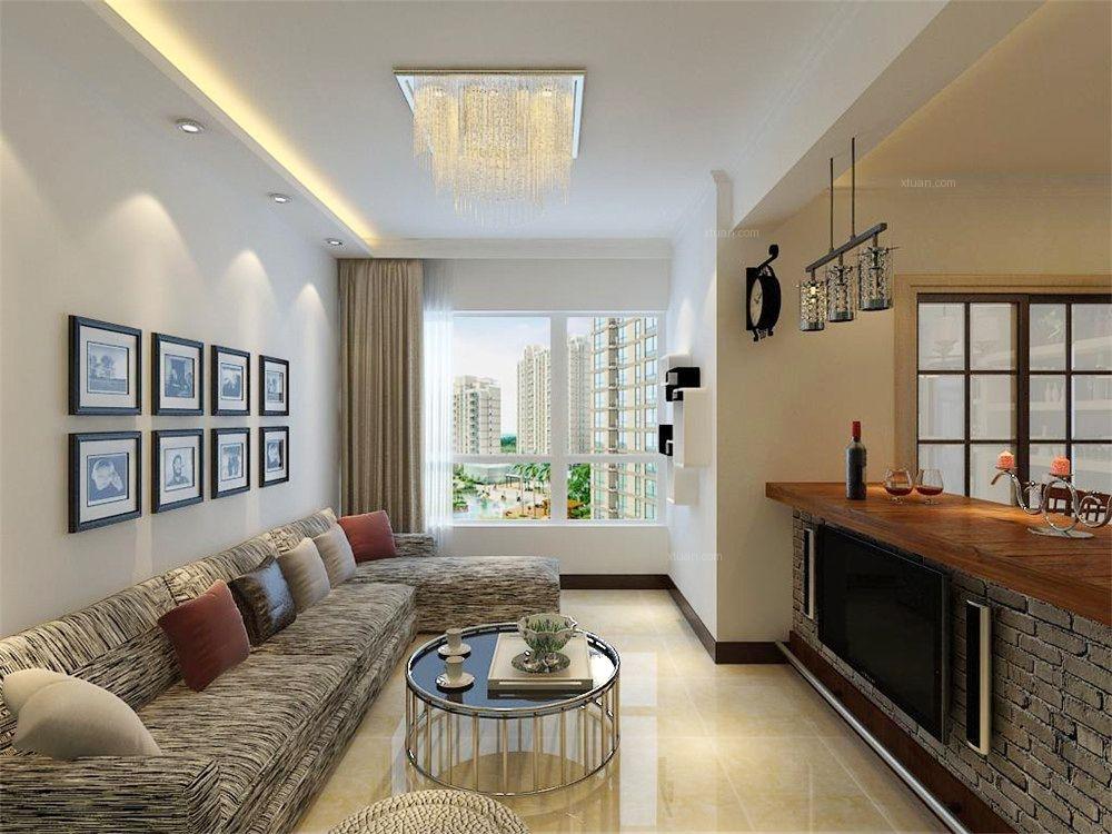 客厅房间分隔设计