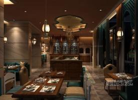 阿拉伯风主题餐厅设计-深圳SALAM阿拉伯餐厅设计(皇庭广场店)
