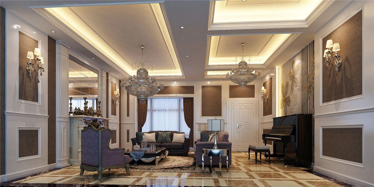 设计理念:西上海君庭别墅户型装修欧式风格设计方案展示,腾龙别墅设计师周灏作品,欢迎品鉴,别墅装修设计师预约15800615719 在线QQ交流210670857