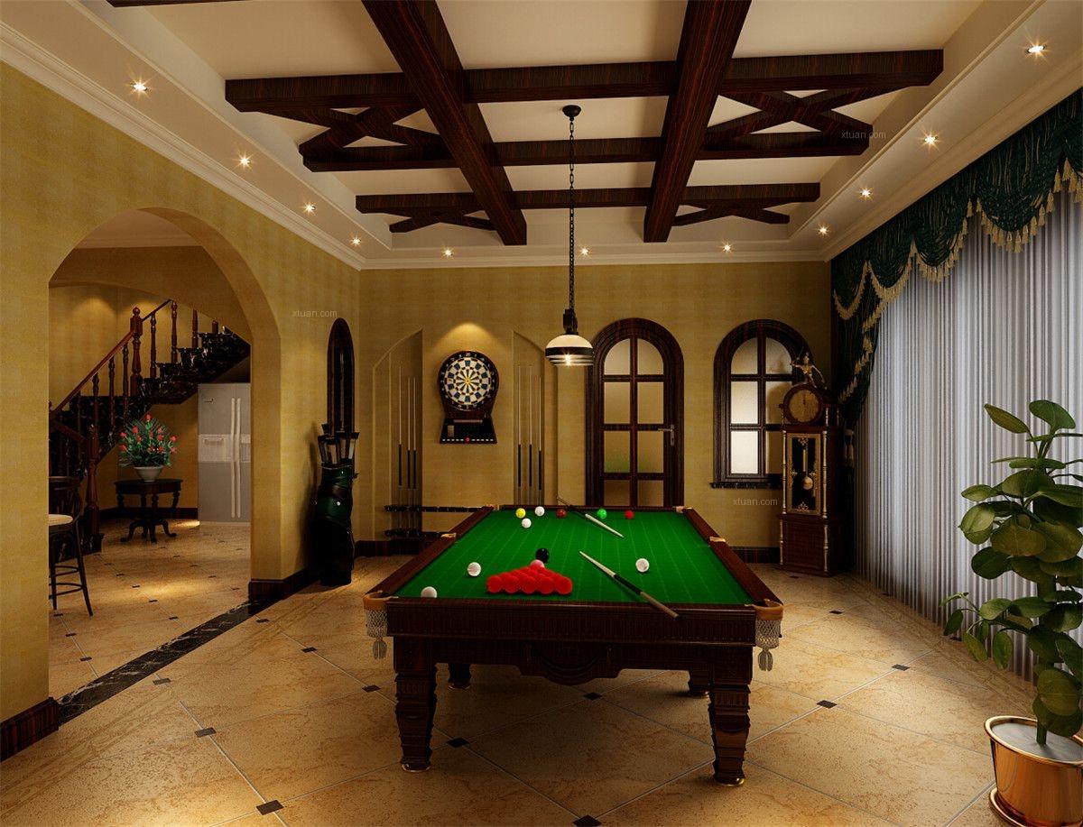 印象欧洲别墅美式风格设计方案装修效果图图片