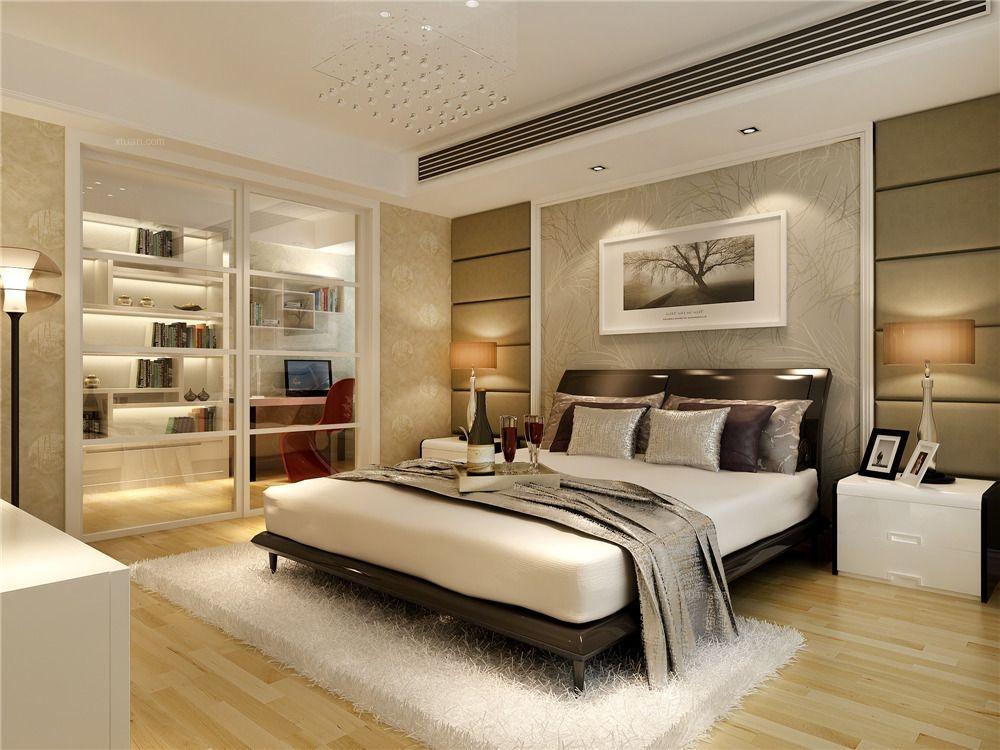 天居玲珑湾别墅美式风格设计方案装修效果图图片