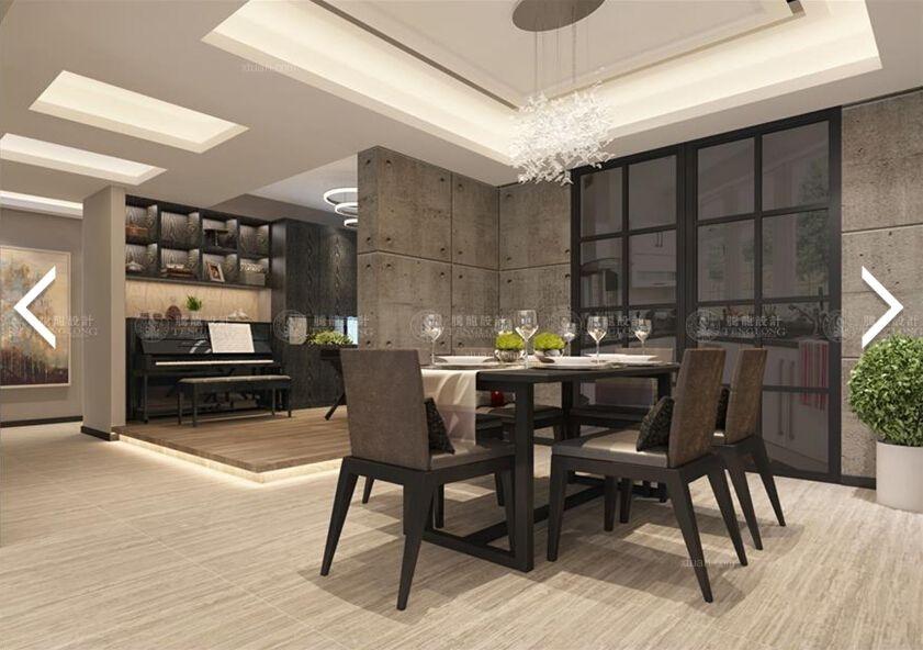 森兰名佳公寓现代简约风格设计装修效果图