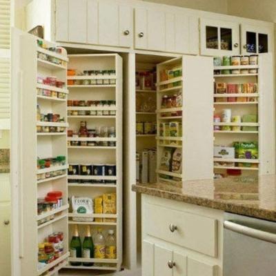 完美的厨房收纳柜