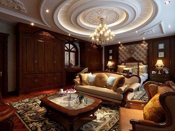 鞍山怡和城1000㎡欧式别墅室内设计别墅室内