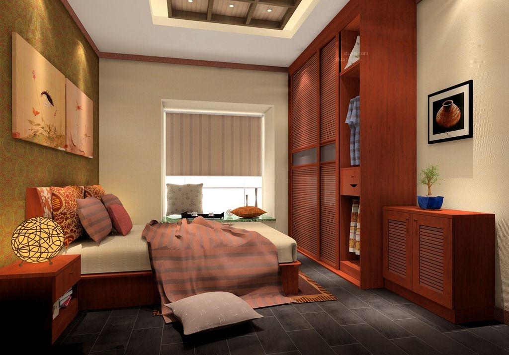 標簽:臥室別墅中式風格 設計理念:東方晨光裝飾打造的中式別墅裝修