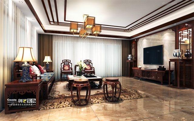标签:客厅大户型中式风格 设计理念:包含项目:     1.