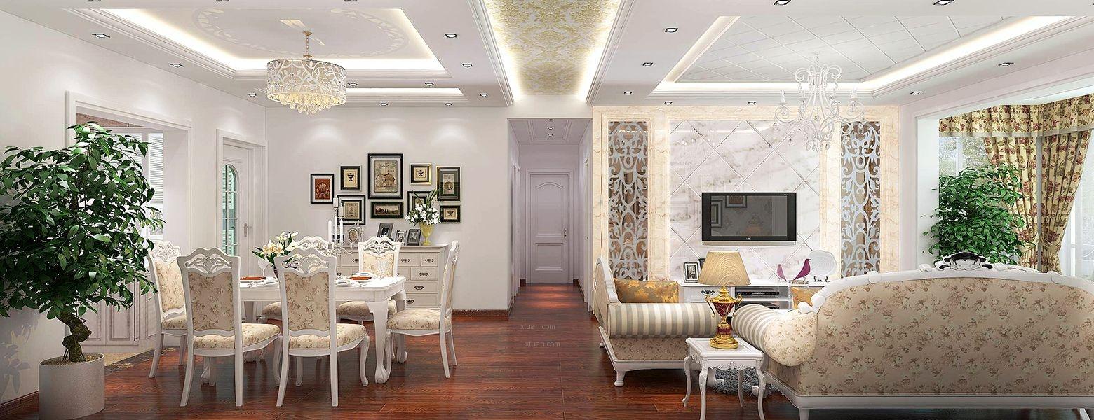 100平米设计图 100多平米房子设计图86平米房子装修图