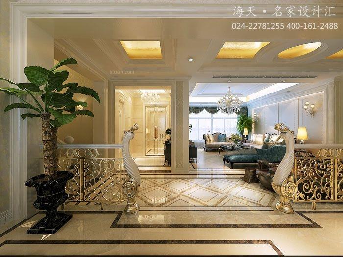 沈阳6室2厅400平大户型欧式设计装修效果图