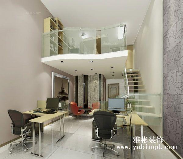 太阳岛loft办公室装修效果图