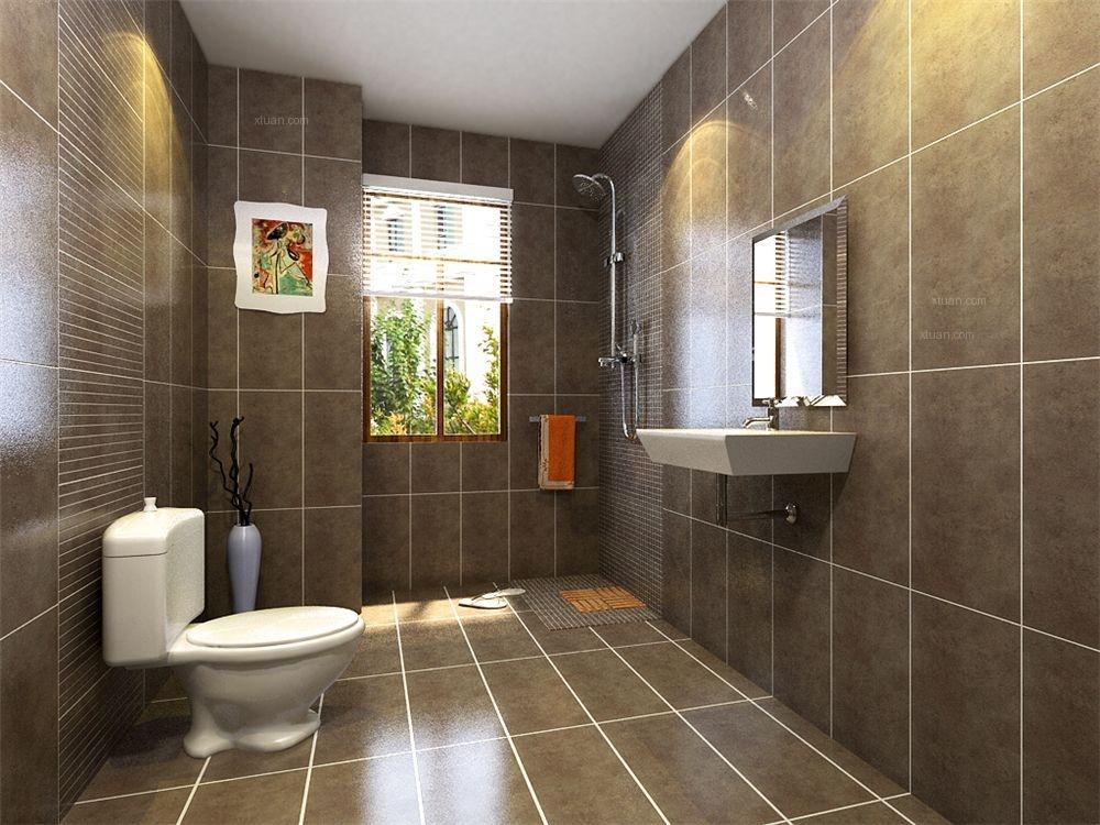 两室两厅中式风格卫生间