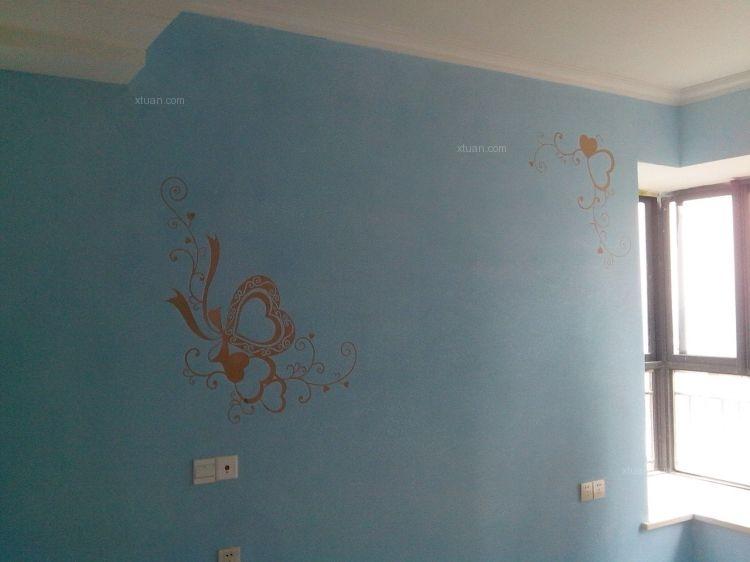 硅藻泥 电视墙产品效果图