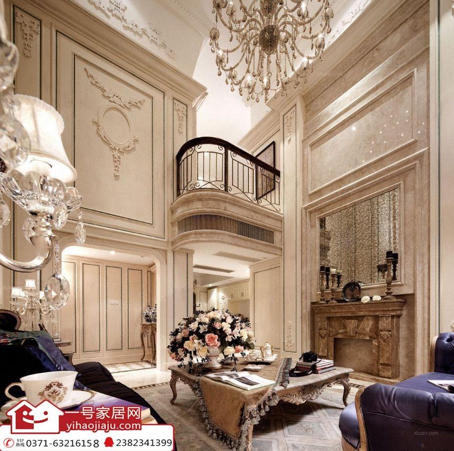 郑州一号家居网:风和日丽160平欧式风格装修效果图