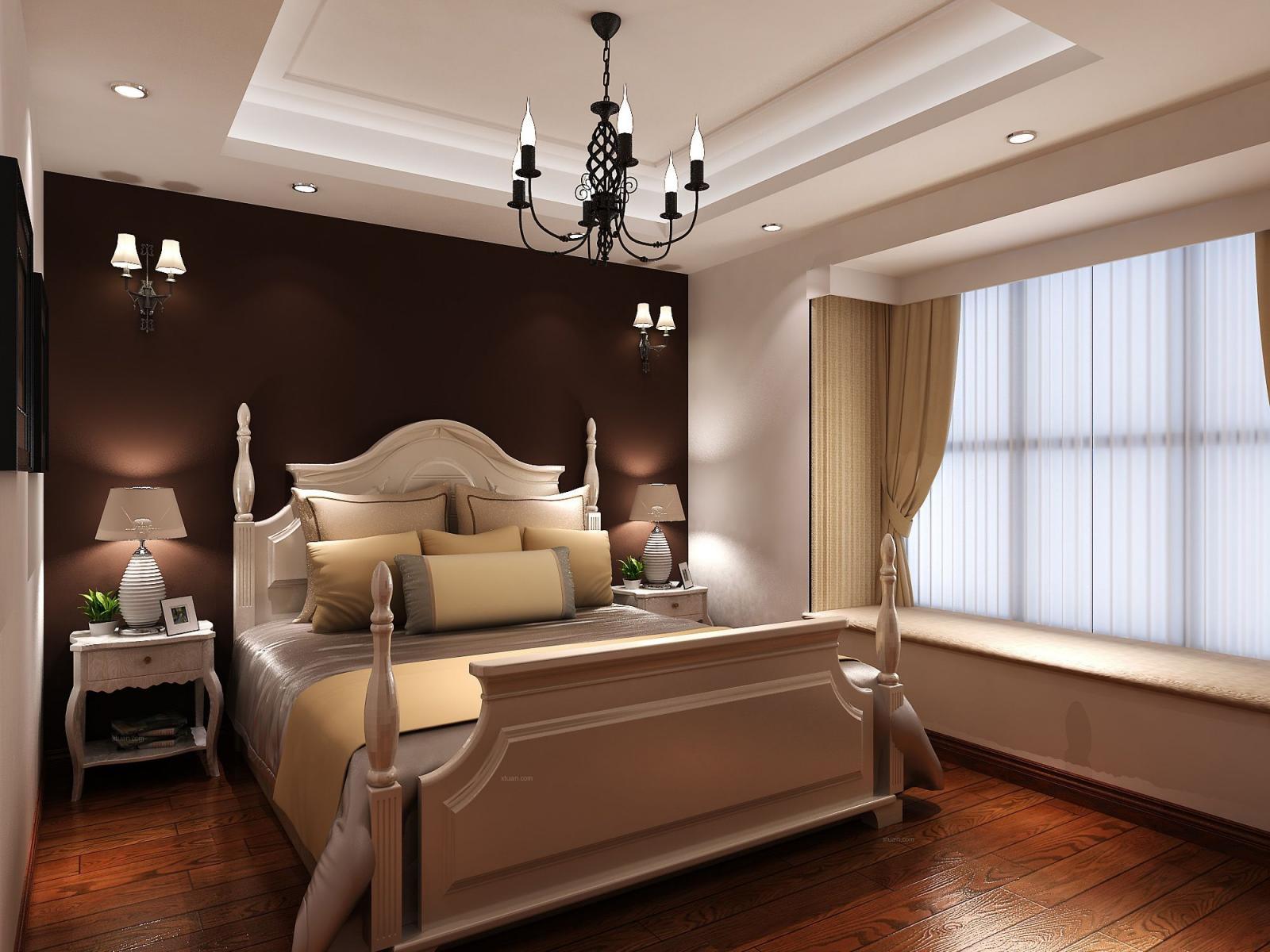 三室两厅北欧风格主卧室