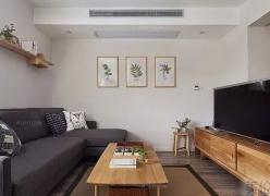 桂林联发乾景两室两厅简约原木风格