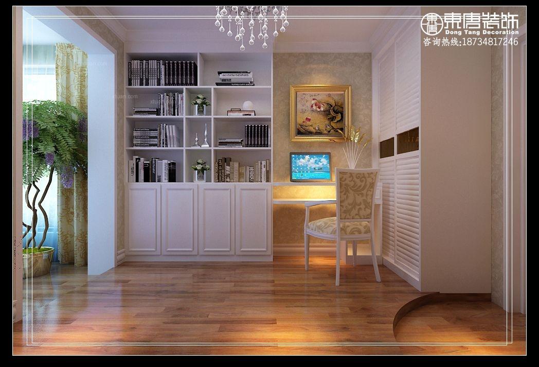 三居室欧式风格书房图片