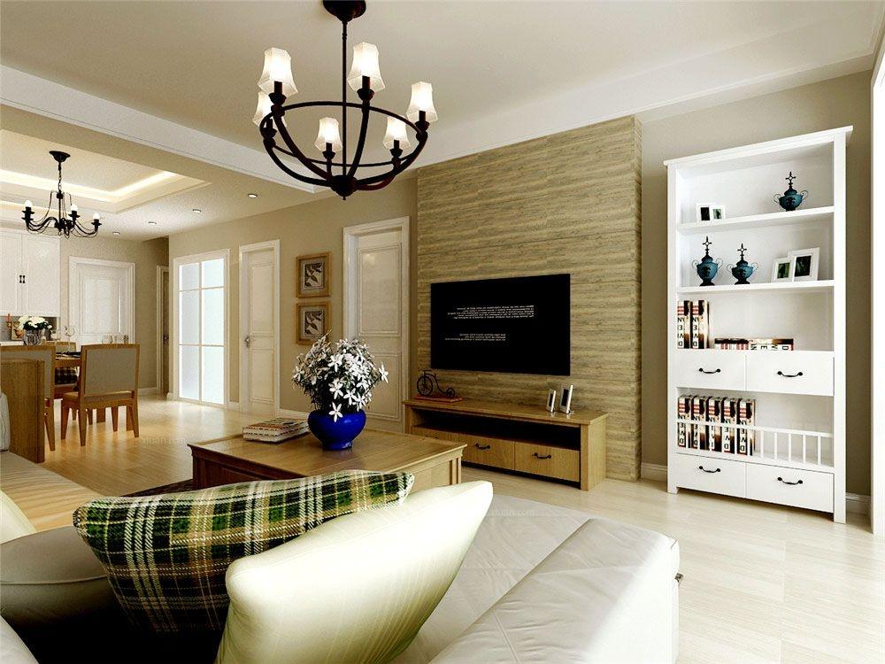 保利香槟国际109平方米北欧风格装修效果图