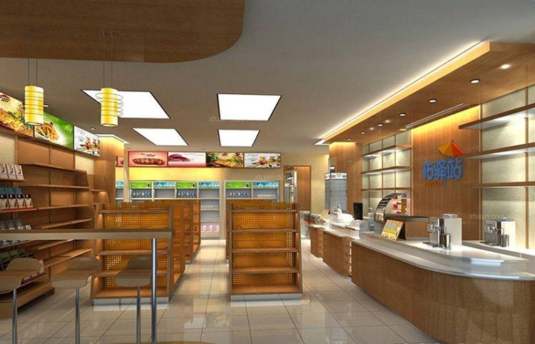 濟南超市便利店設計案例裝修效果圖