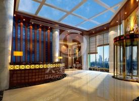 大道熠酒店装修设计天子圣泽酒店装修设计工程案例