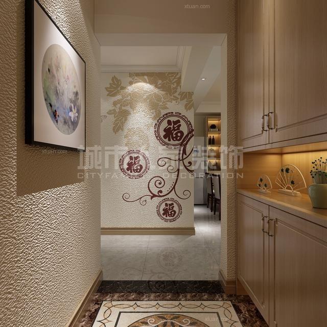 《130平全屋硅藻泥装修效果图,给你一个满意的家!》