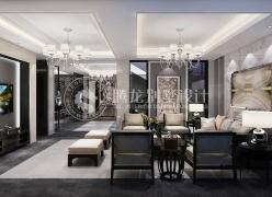 硅谷商墅800平双拼别墅现代风格设计