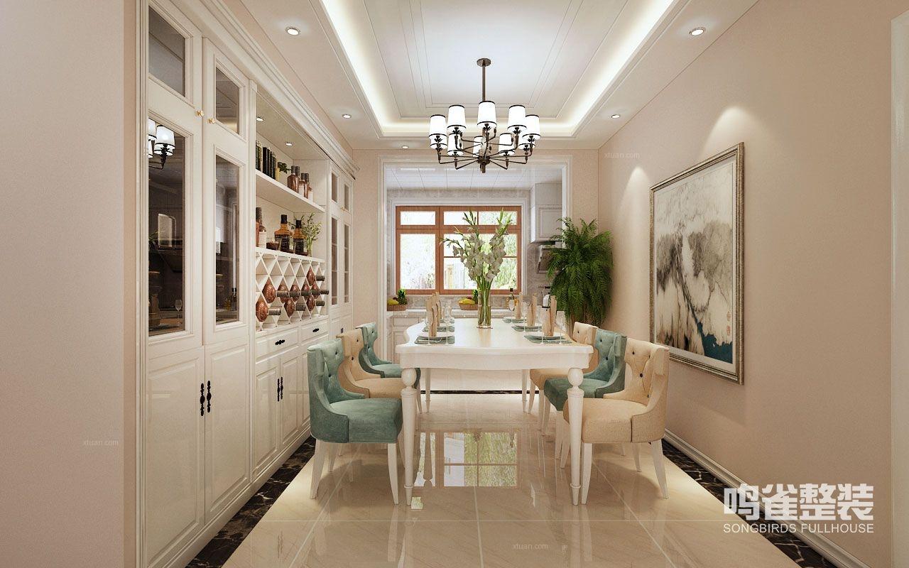 三居室美式风格客厅图片