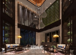 IDAC彦翔设计案例之一江西广丰月兔精品酒店
