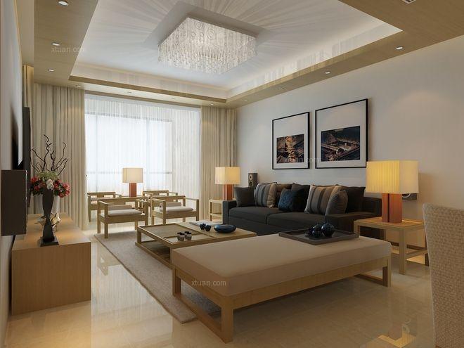 三居室日式风格客厅