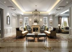 万科虹桥源墅现代风格装修设计方案展示!上海腾龙别墅设计作品!