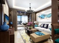 【西安城市人家】阳光城西西里98平米新中式风格