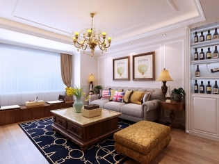 中城嘉汇85平两居室案例