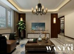 泰安万泰装饰|泰安御驾新苑133m²新中式|设计师马彬