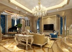 水岸新都别墅新古典风格设计