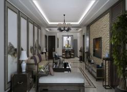 古韵而禅意的中式居室  打造灵净的素雅空间