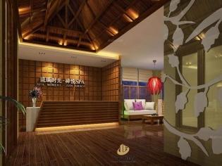 深圳spa会所装修设计案例-琉璃时光·禅悦SPA-广深艺建设
