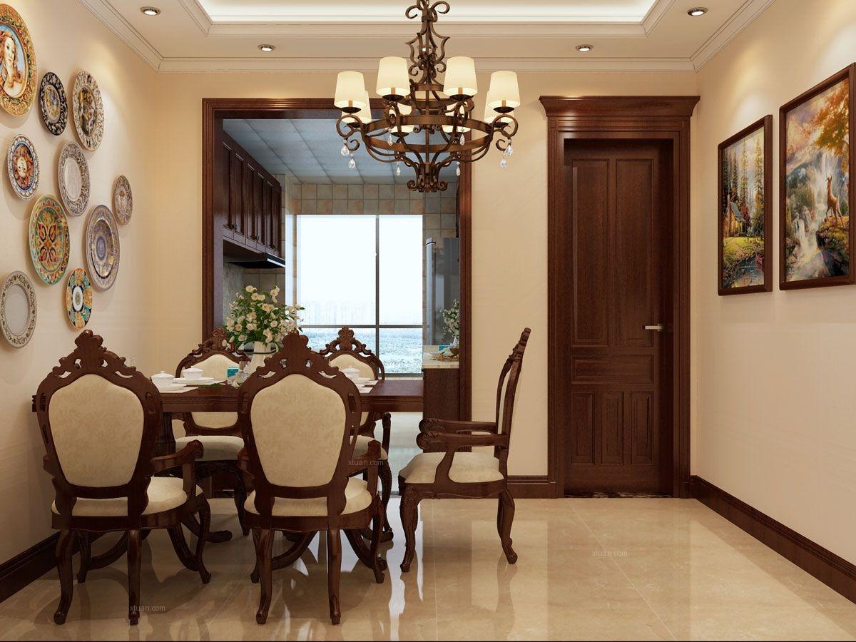 太原专业的家装公司!湖滨文景苑140平米美式风格,装修案例