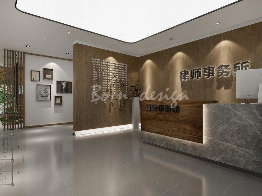 合肥律师事务所办公室空间设计分享