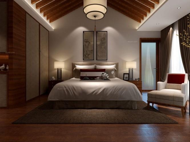 香缇公馆别墅项目新中式风格设计案例