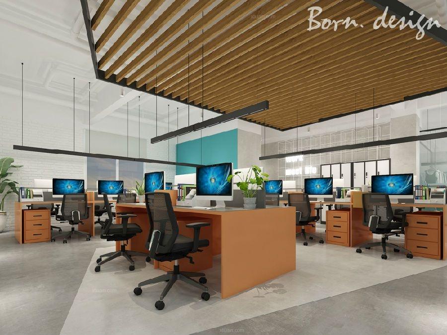 合肥贸易办公室装修设计色调把控方案